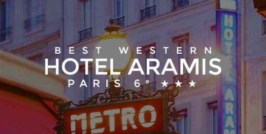le site web de l'hotel aramamis par digency.fr