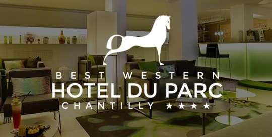 Hotel Chantilly: création du site internet