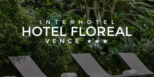 le site de l'hotel floreal par digency